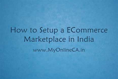 How to setting up ecommerce marketplace in india
