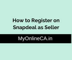 how to register on snapdeal as seller